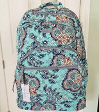 Vera Bradley MSRP $149 Essential Large Backpack/Laptop Bag, Fan Flowers