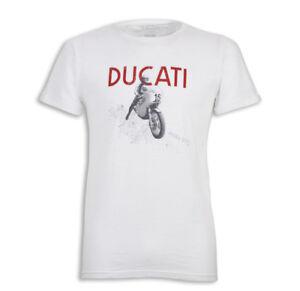 Ducati T-Shirt Celebrativa 200 Paul Imola Miles Smart Victory 1972 New