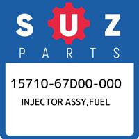 15710-67D00-000 Suzuki Injector assy,fuel 1571067D00000, New Genuine OEM Part