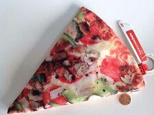 Yummy pocket pizza pencil case, makeup case, coin purse