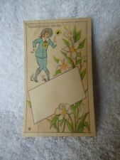 c1882 Trade Card Oscar Wilde Hold Yourself Like This Waltham Mass BUFFORD