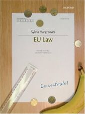 EU Law Concentrate,Sylvia Hargreaves