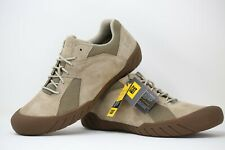 CAT Caterpillar Classic Taupe Suede Haycox Men Trainers Shoes Size UK 11 EUR 45