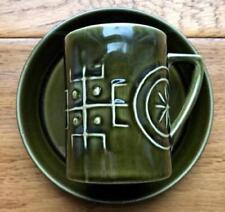 Totem Pottery Cups & Saucers 1960-1979 Date Range