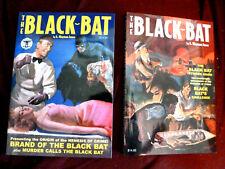 BLACK BAT PULP HERO Sanctum Books