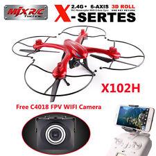 DRONE MJX X102H QUADRICOTTERO CON  CAMERA C4018 FPV ALTITUDE HOLD AUTO RITORNO