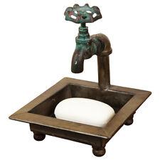 Primitive Country Faucet/Spigot Bath Soap Dish Kitchen/Bathroom Farmhouse Decor