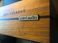 United Audio Dual 1212 Turntable cabinet