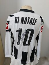 Maglia calcio Udinese 2006 07 n 10 Di Natale match worn issued sign shirt camisa
