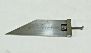 VTG STARRETT 364 Universal Bevel Vernier Protractor Acute Angle Attachment ONLY