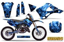 KAWASAKI KX125 KX250 99-02 GRAPHICS KIT CREATORX DECALS INFERNO BLNP