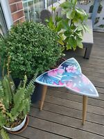 Surfboard Table, Table trefoil,Tropic style, Surfing gift, Art Decor New