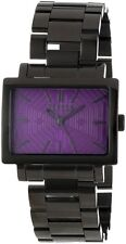 Versus by Versace Women's 3C63100000 Dazzle Rectangular Black ion plated Watch
