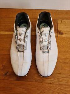 Size 10.5 White Footjoy DNA BOA Golf Shoes