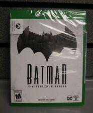 Batman The Telltale Series Season Pass Disc | XBOX ONE | New/Sealed | SHIPS Fast