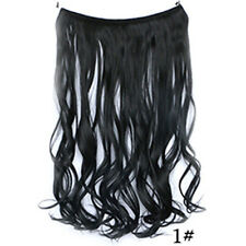 Fashion Headband Secret Wire In Hair Extensions Invisible Curly Synthtic Wedding