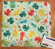 Robert Kaufman Amy Schimler Fabric 2  Jump Into Fun Frogs Green