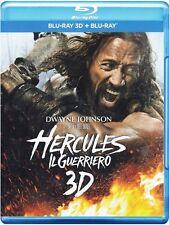 Blu Ray HERCULES - Il Guerriero 3D (Versione Estesa) (Blu Ray 3D + Blu Ray) .NEW