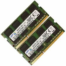 RAM 16 GB 2x8GB di memoria laptop DDR3 PC3 12800 1600 MHz 204 pin sodimm SAMSUNG