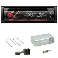 Pioneer DEH-S110UB CD USB AUX Flac Autoradio Einbauset für Dacia Duster bis 2012