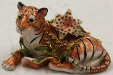 Fitz Floyd Exotic Jungle Collection Tiger Cache Box *Excellent Condition*