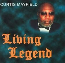 CURTIS MAYFIELD - Living Legend RARE OOP 2 CD set, 1995 on Curtom Records