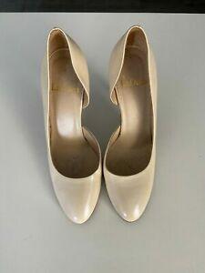 Rare Laduca Cream Colored Dress Shoes- Women's 6.5