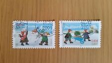 Complete used RF / France stamp set - 2001 Happy New Year