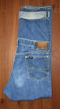 Sanforized Lee Riders Jeans Selvage Mens Tag 34 Union USA Gripper Actual W33 L29