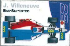 Aimant magnet Prost 1999 Formule 1 Formula 1 F1 Jacques Villeneuve BAR Supertec