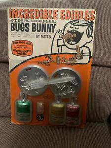 Incredible Edibles Gobble-Degoop Bugs Buny Accessory Pak 1966 Mattel