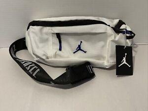 Nike Air Jordan Retro 11 Jumpman Crossbody Fanny Pack Concord White Black Purple
