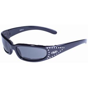 Global Vision Marilyn 3 SM Schwarz Sonnenbrille Motorradbrille Bikerbrille Damen