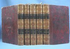 SCÈNES de la VIE PRIVÉE & de PROVINCE / BALZAC /  5 Tomes / P.E.  Houssiaux 1855