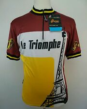 Forza Race Wear Le Triomphe Cycling Jersey Size Adult Large L