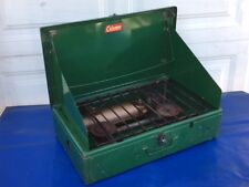 """Coleman 413E 2-Burner """"Copper Tank"""" Camping Cook Stove With Towel Rack $19.95"""