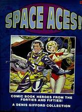 SPACE ACES! Comic Book HEROES 1940-50's COLOR COVERS & Text Info DYNAMIC THRILLS