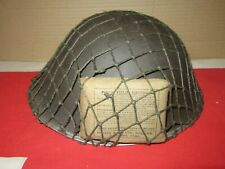 WW2 British Army Late War Tommy Turtle Helmet Dated 1945