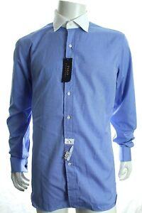 BNWT RALPH LAUREN MEN'S DRESS SHIRT CONTRAST COLLAR FRENCH CUFF SIZE 16 RRP £85