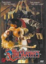 EROTIC ADVENTURES OF THE THREE MUSKETEERS - DVD - Region 1 - Sealed