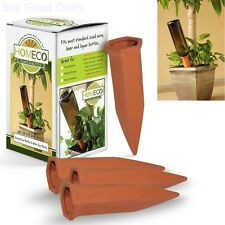 Vacation House Plant Self Watering System Indoor Plant Care Devices Set Of 4 New