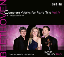 Ludwig van Beethoven : Beethoven: Complete Works for Piano Trio & Triple