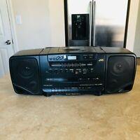 Vtg JVC AM FM Dual Cassette Dubbing /CD player Boombox Stereo model PC-X95 PARTS