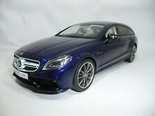 MERCEDES-BENZ CLS63 AMG S218 SHOOTING BRAKE BLUE 1:18 GT-SPIRIT GT040 LIMITED