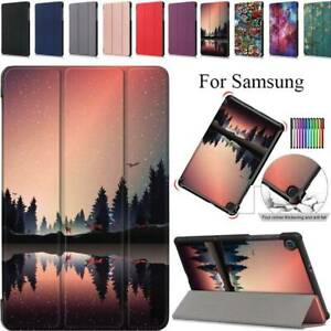 For Samsung Galaxy Tab A 8.4 2020 T307U Case Folding Stand Flip Magnetic Cover