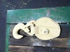 Snatch Block Skookum Ulven 8 inch 10 ton Capacity Unused Military Grade