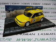 voiture 1/43 IXO Altaya  SEAT IBIZA GTI KIT CAR Monte Carlo 1999 Gardemeister