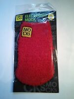 XL MOCKS Sock fits, Samsung s2 s3 s4 s5 s6 s7, iPhone 6 & 7 Red Fluffy
