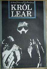King Lear -  Shakespaere - Klimowski -  Polish Poster