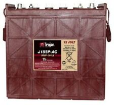 BATTERY TROJAN J185P-AC 12V 205 AH FLOODED RENEWABLE ENERGY DEEP CYCLE EACH.